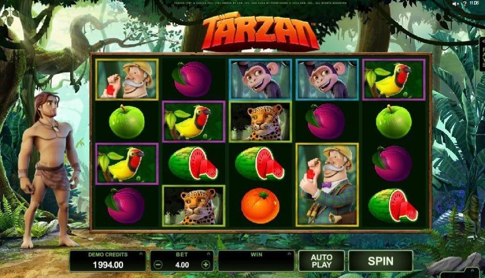Tarzan online Videoslot