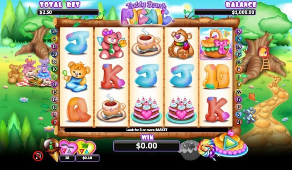 Teddy Bear's Picnic Casinospiel
