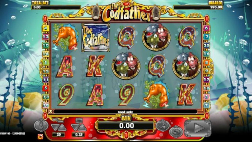 The Codfather Video Slot
