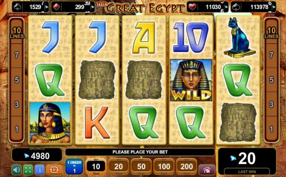The Great Egypt online Casinospiel