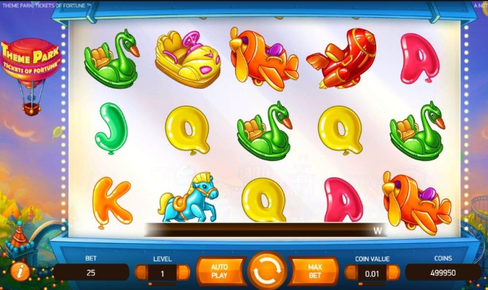 Theme Park: Tickets of Fortune online Slotmaschine