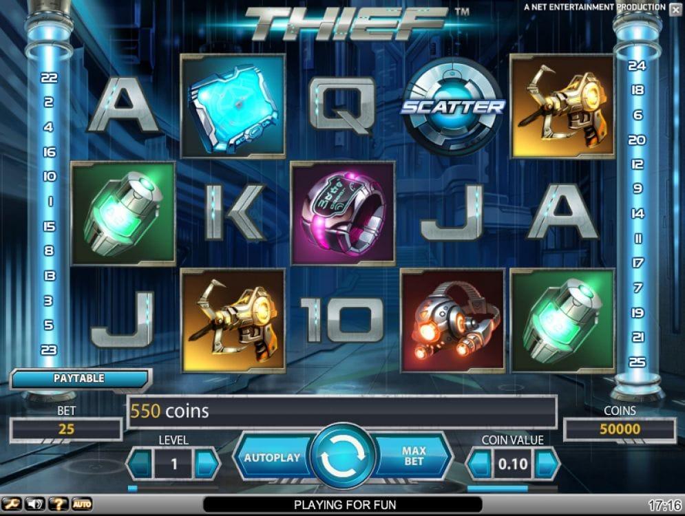 Thief online Spielautomat
