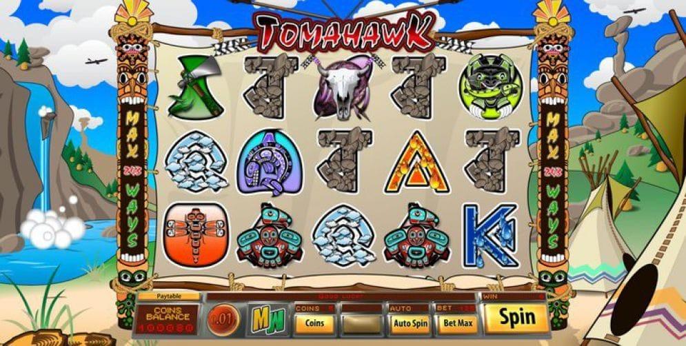 Tomahawk online Geldspielautomat