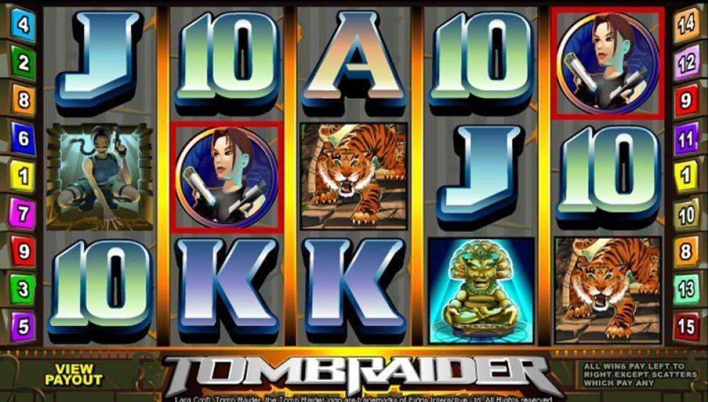 Tomb Raider online Automatenspiel