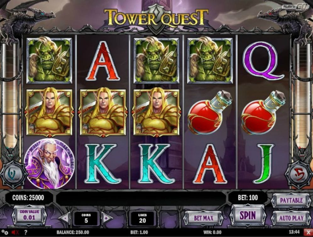 Tower Quest online Geldspielautomat