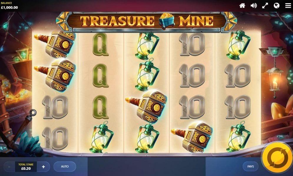 Treasure Mine Spielautomat