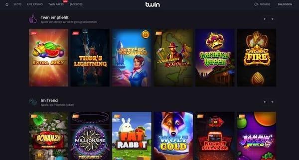 20 Freispiele bei Twin Casino für Spieler aus Deutschland und Österreich