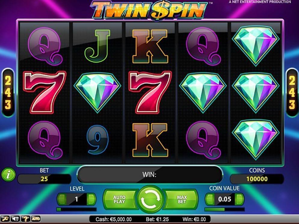 Twin Spin online Geldspielautomat