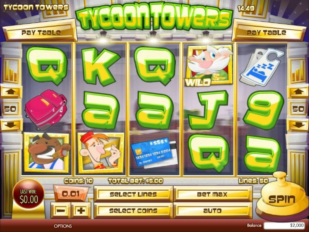 Tycoon Towers Automatenspiel