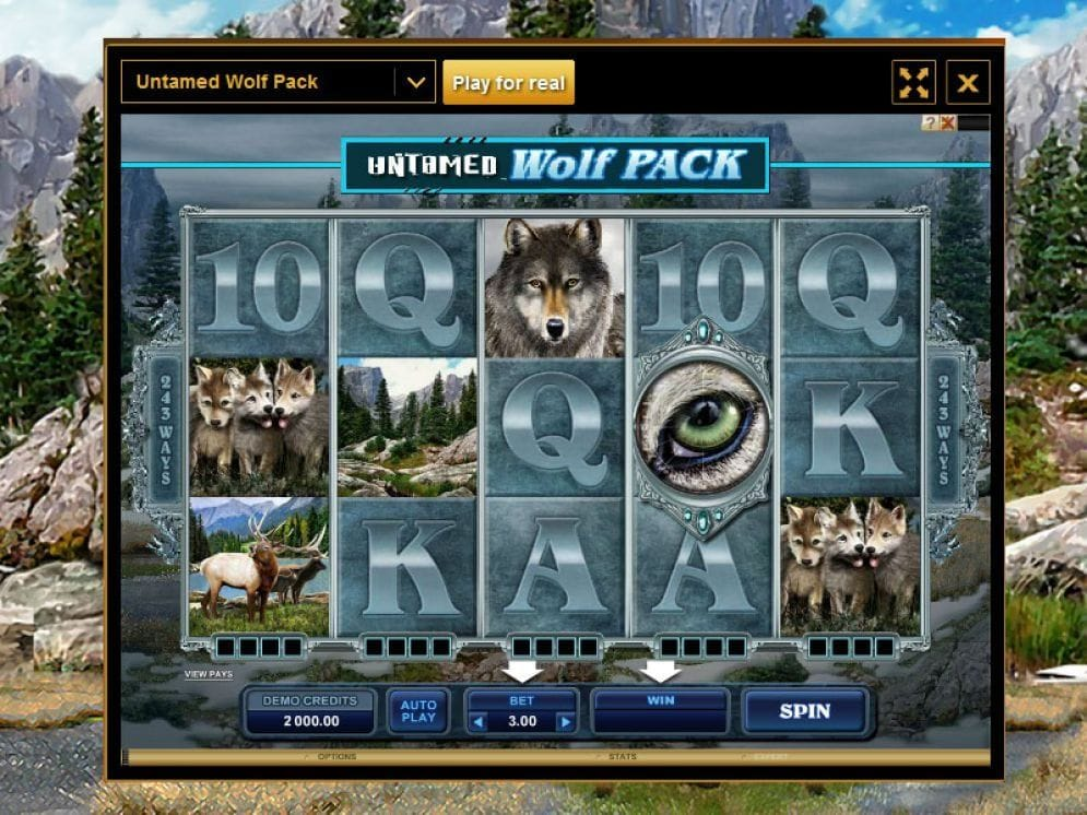 Untamed Wolf Pack Video Slot