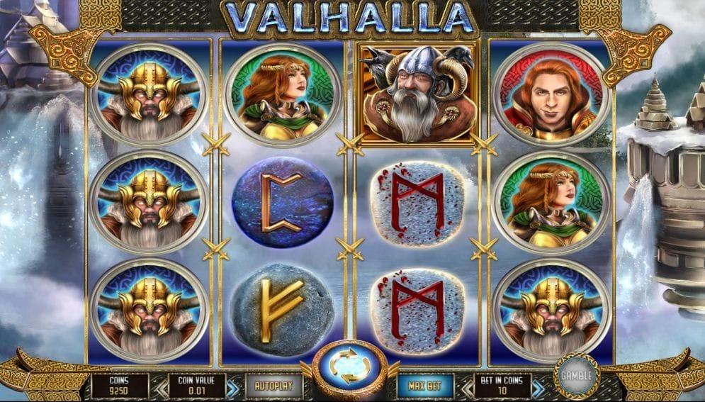 Valhalla online Video Slot
