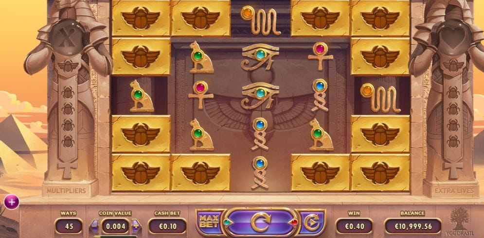 Valley of the Gods Video Slot