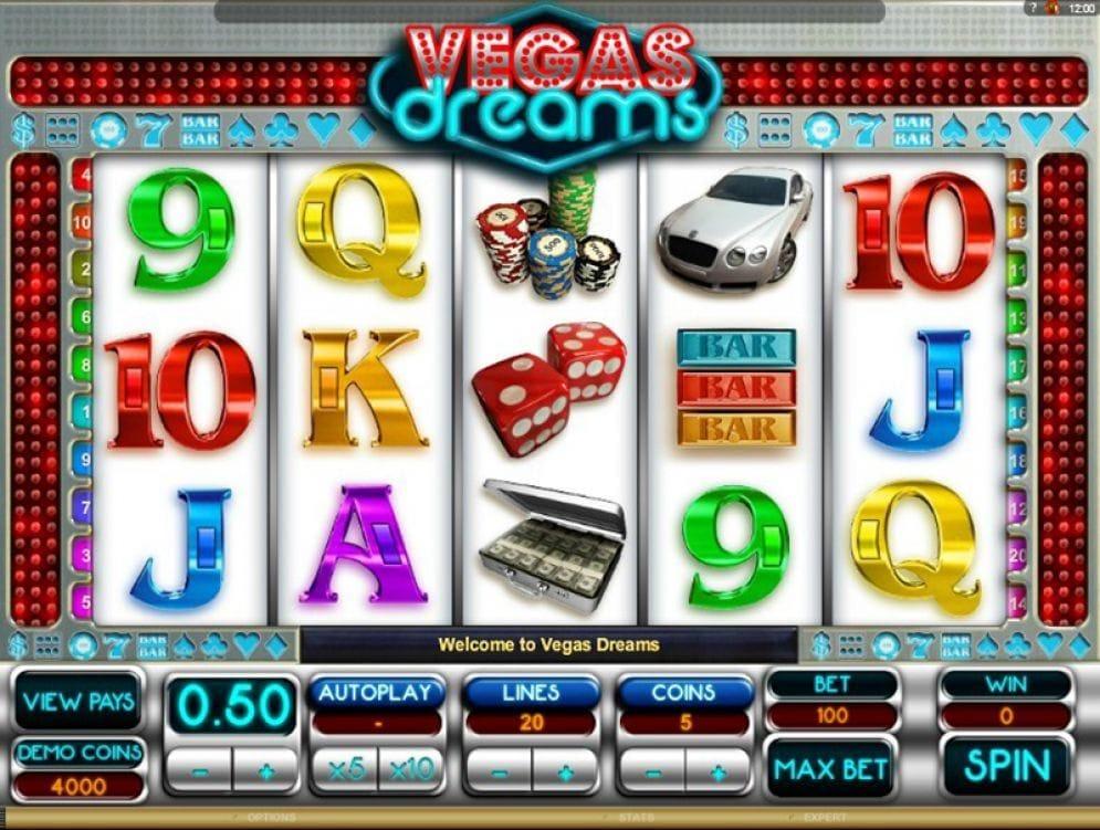 Vegas Dreams Casino Spiel