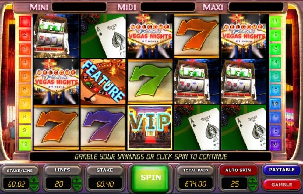 Vegas Nights Spielautomat