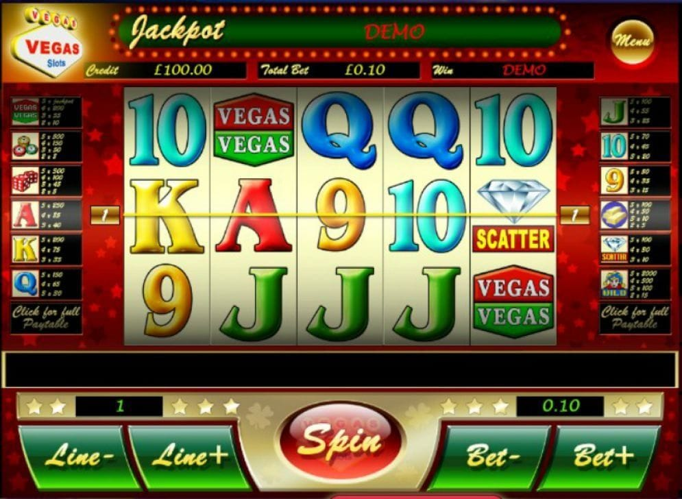 Vegas Vegas Automatenspiel