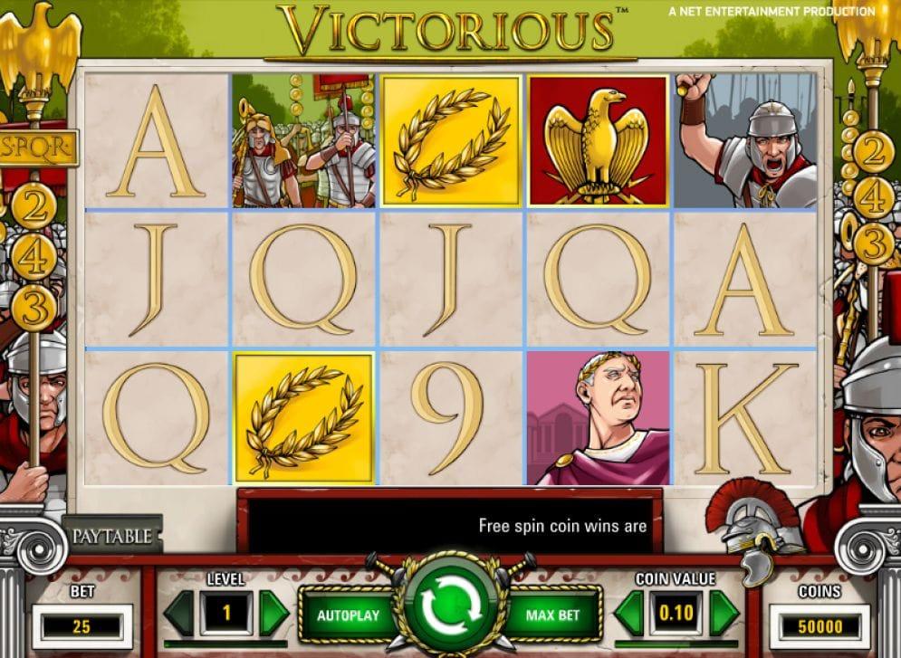 Victorious online Videoslot