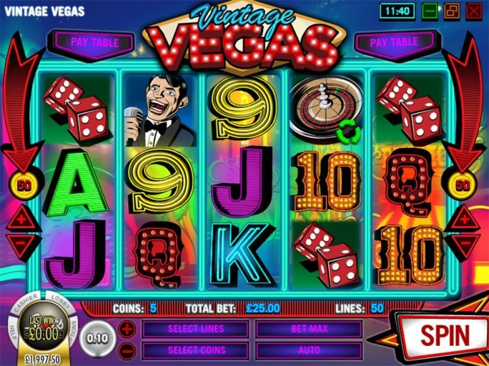 Vintage Vegas online Automatenspiel