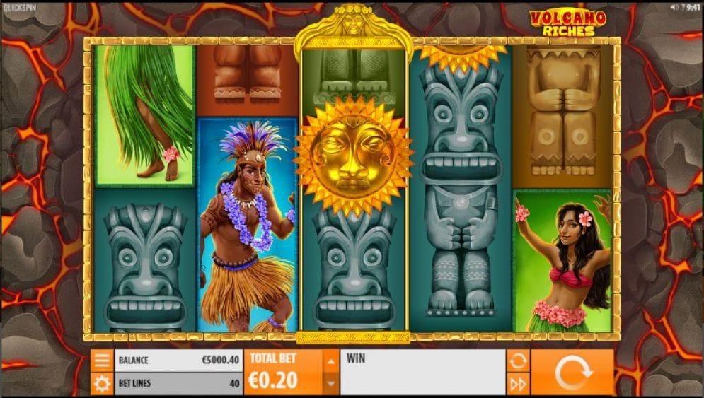 Volcano Riches Geldspielautomat