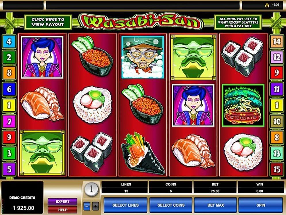 Wasabi-San Spielautomat