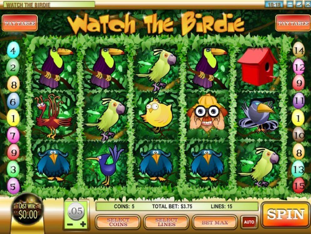 Watch the Birdie online Automatenspiel