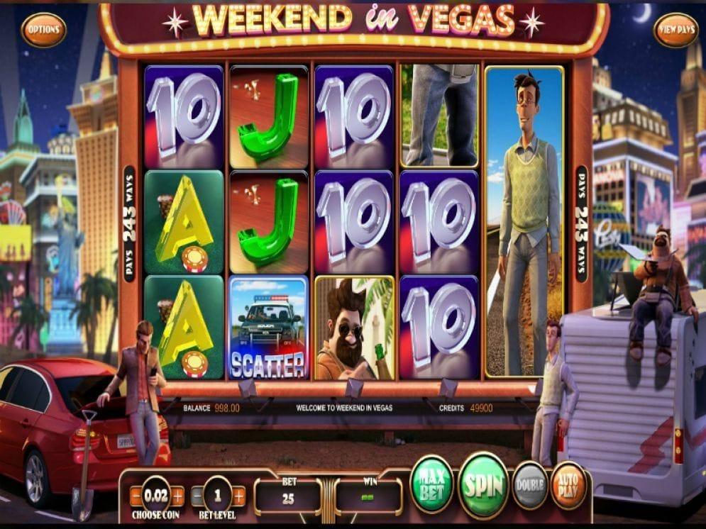 Weekend in Vegas online Automatenspiel