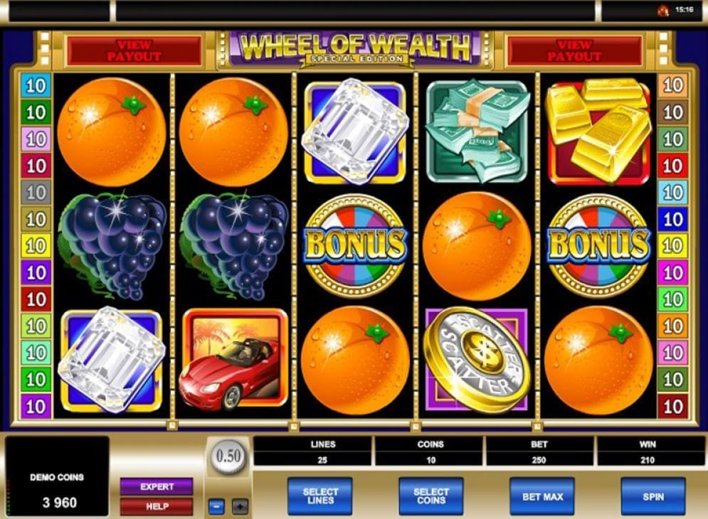 Wheel of Wealth Special Edition Video Slot