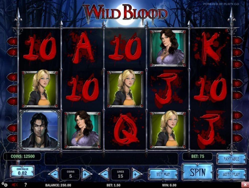 Wild Blood Spielautomat