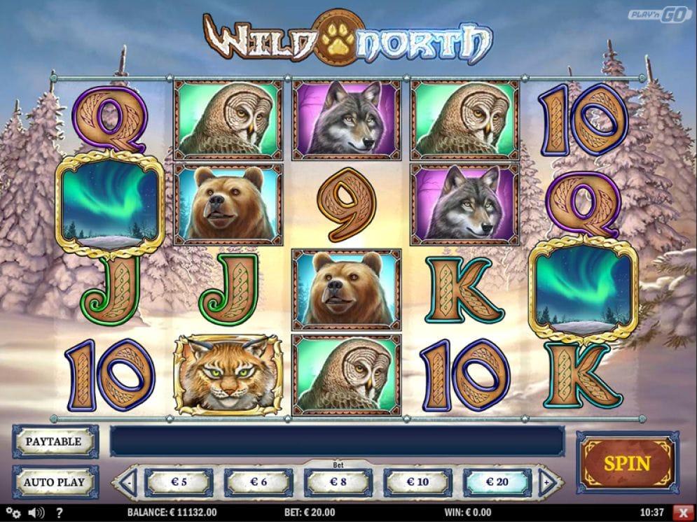 Wild North online Automatenspiel