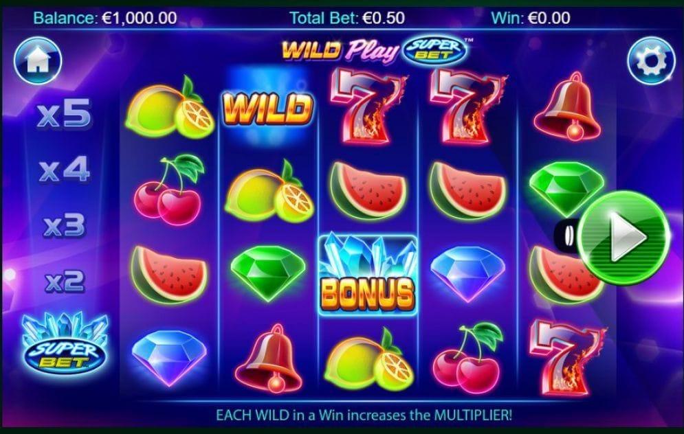 Wild Play Super Bet online Casinospiel