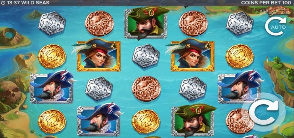 Wild Seas online Automatenspiel