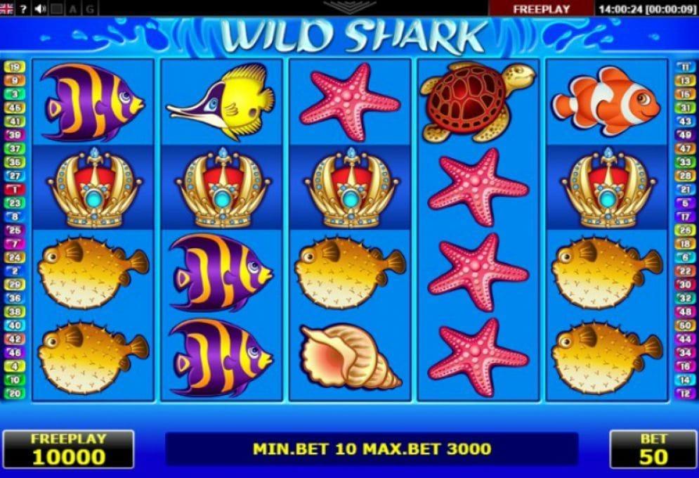 Wild Shark online Spielautomat