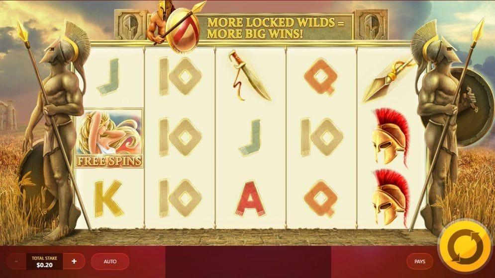 Wild Spartans Geldspielautomat