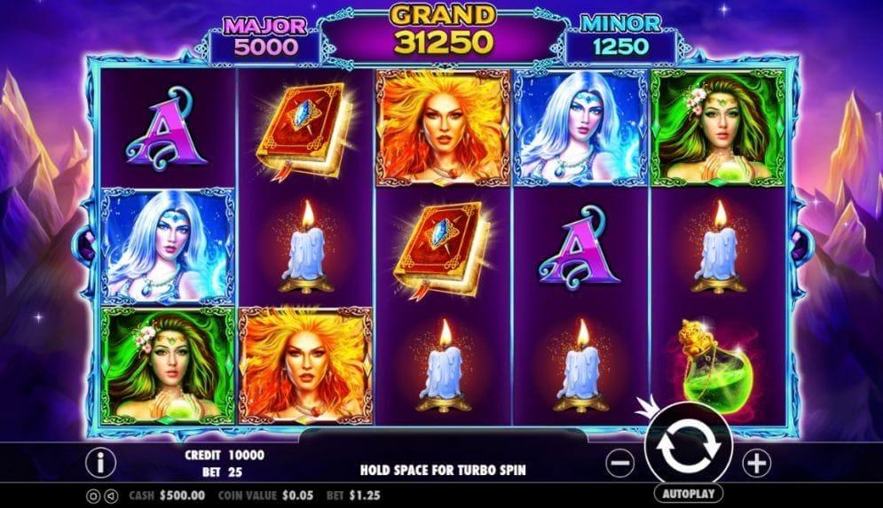 Wild Spells online Slotmaschine