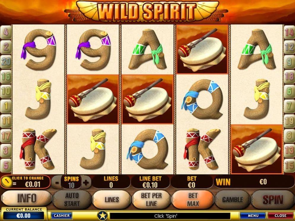 Wild Spirit online Spielautomat