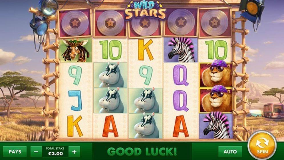 Wild Stars Casino Spiel