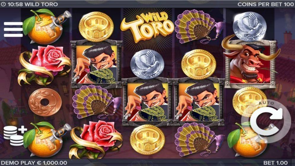 Wild Toro online Casino Spiel