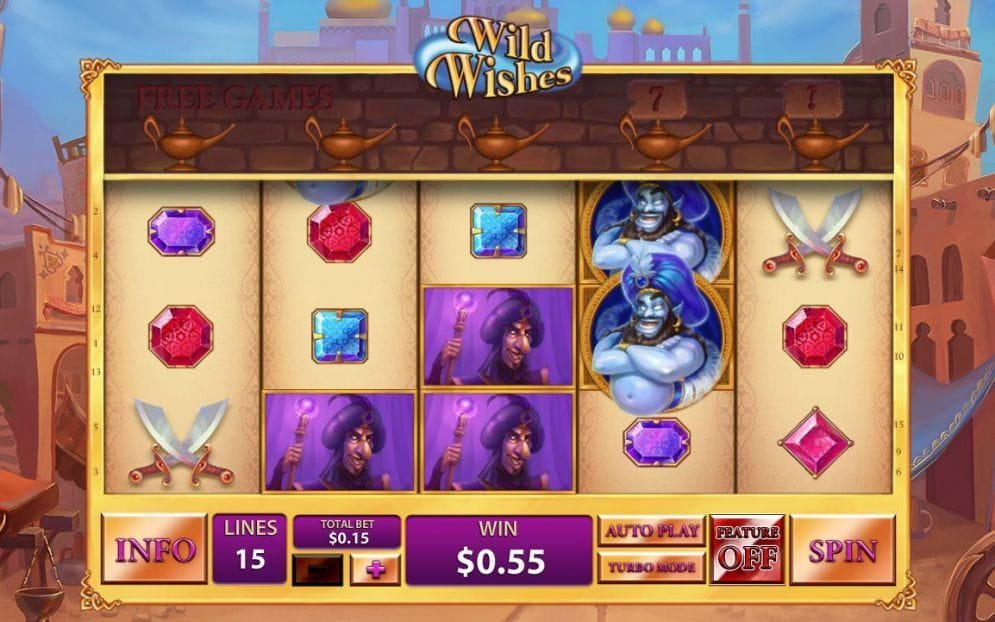 Wild Wishes online Geldspielautomat