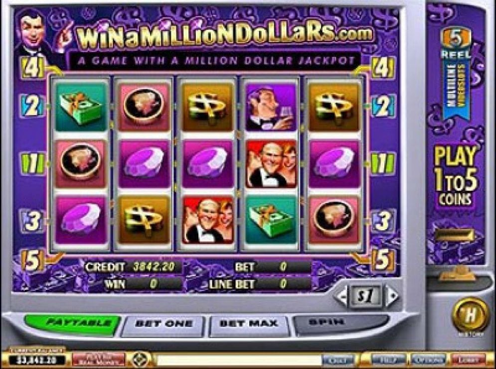Win a Million Dollars online Slotmaschine
