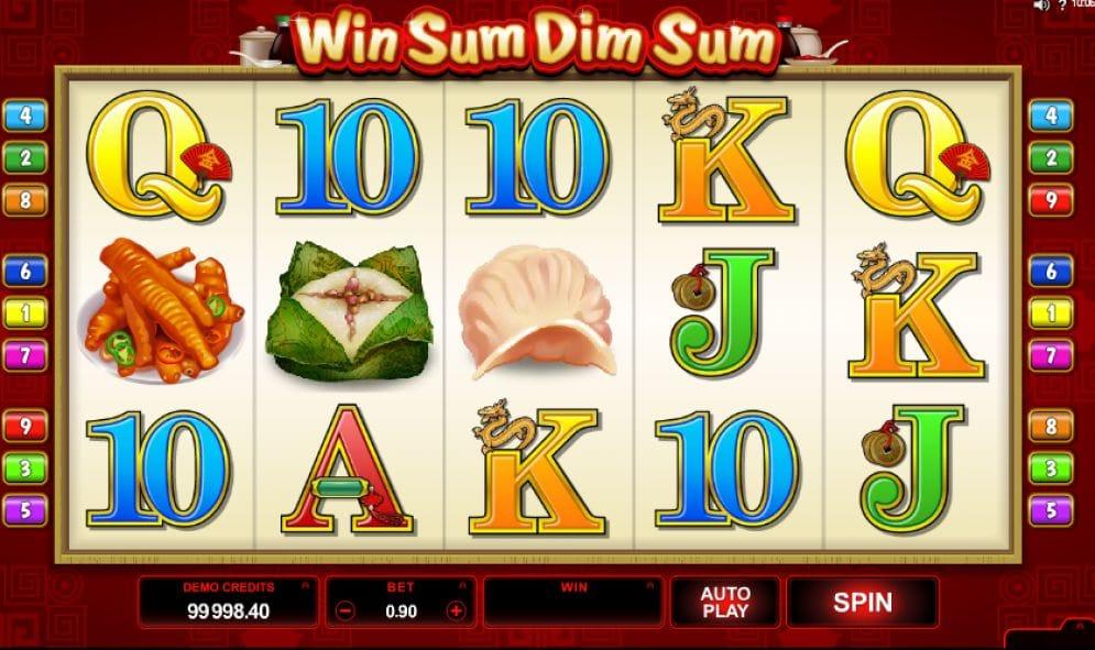 Win Sum Dim Sum online Casinospiel