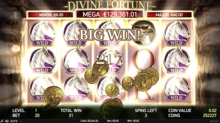 Divine Fortune Casinospiel