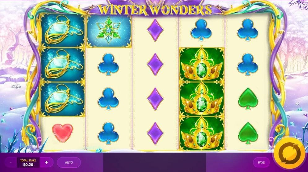 Winter Wonders online Spielautomat