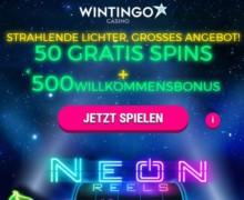 50 Freispiele mit Aktionscode WIN50 (min. 10€ Einzahlung) + 4 Mal 100% Einzahlungsbonus bis zu 100€
