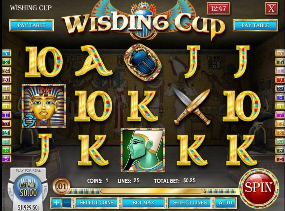 Wishing Cup Casinospiel