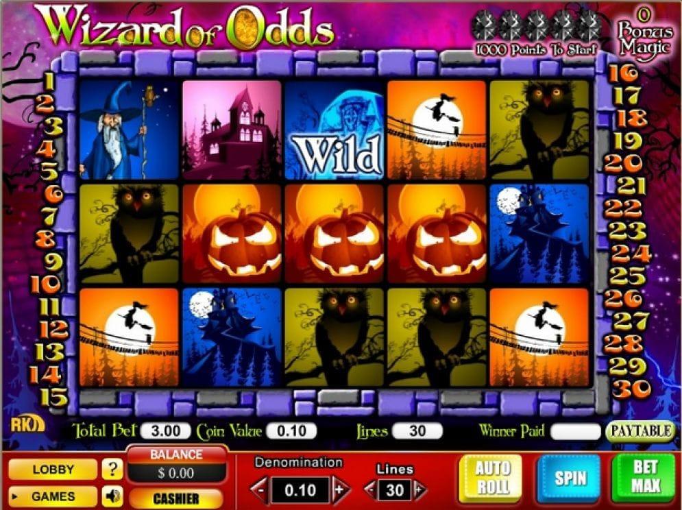 Wizard of Odds online Automatenspiel