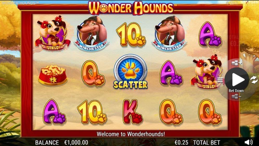 Wonder Hounds online Spielautomat