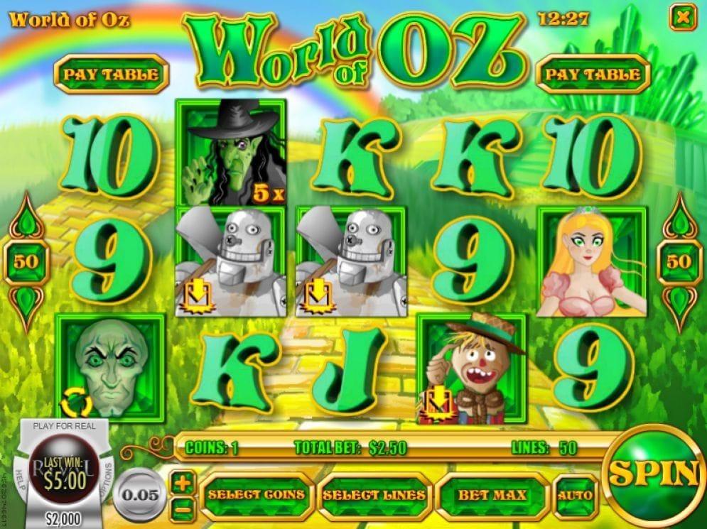 World of Oz Video Slot