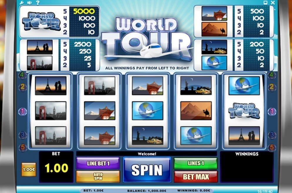 World Tour online Videoslot
