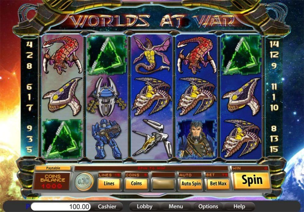 Worlds at War Videoslot