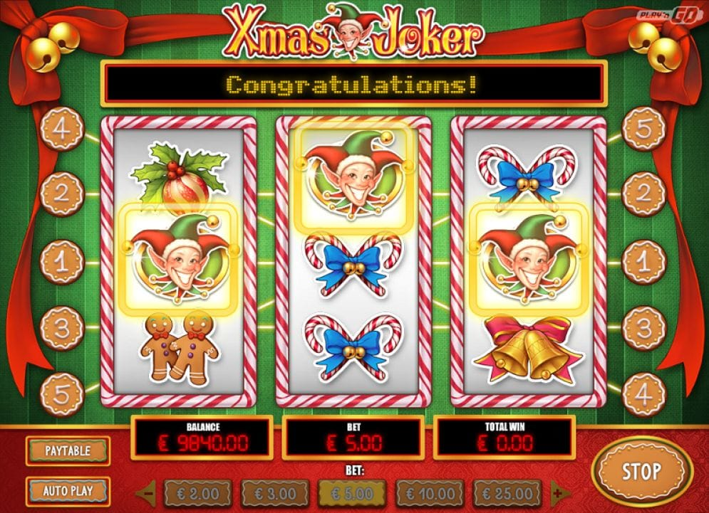 Xmas Joker online Casinospiel