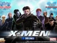 X-Men 50 Lines Spielautomat